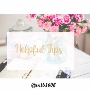 Other - Helpful Tips I ⭐️